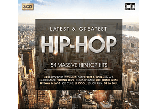 VARIOUS - Hip-Hop Anthems-Latest & Greatest (2016 Edit.) - (CD)