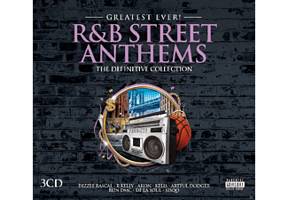 VARIOUS - R&B Street Anthems-Greatest Ever [CD]