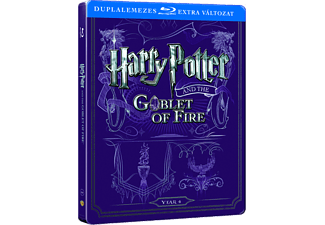 Harry Potter és a Tűz serlege (Steelbook) (Blu-ray)