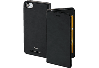 HAMA Slim Bookcover$, Wiko, Jerry, High-Tech-PU, Schwarz