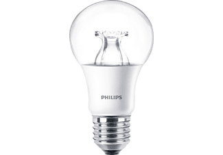 PHILIPS 57217700 Serie WarmGlow LED Leuchtmittel E27 Warmweiß 8.5 Watt 806 Lumen