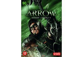 Arrow - Seizoen 1-4 (comic Book) | DVD