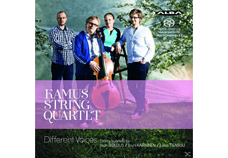 Kamus String Quartet - Different Voices - (SACD Hybrid)
