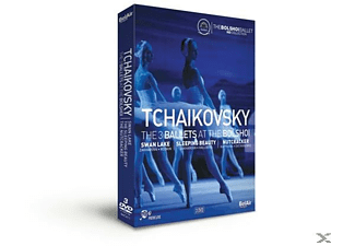 Bolchoi Ballet & Sorokin & Sinaisky - 3 BALLETS AT THE BOLCHOI - (DVD)