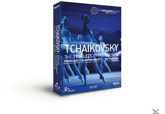 Bolchoi Ballet & Sorokin & Sinaisky - 4 BALLETS AT THE BOLCHOI - (Blu-ray)