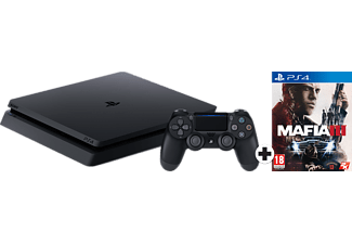 SONY PlayStation 4 (Slim) 1 TB + Mafia III