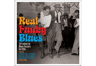 VARIOUS - Real Funky Blues [CD]