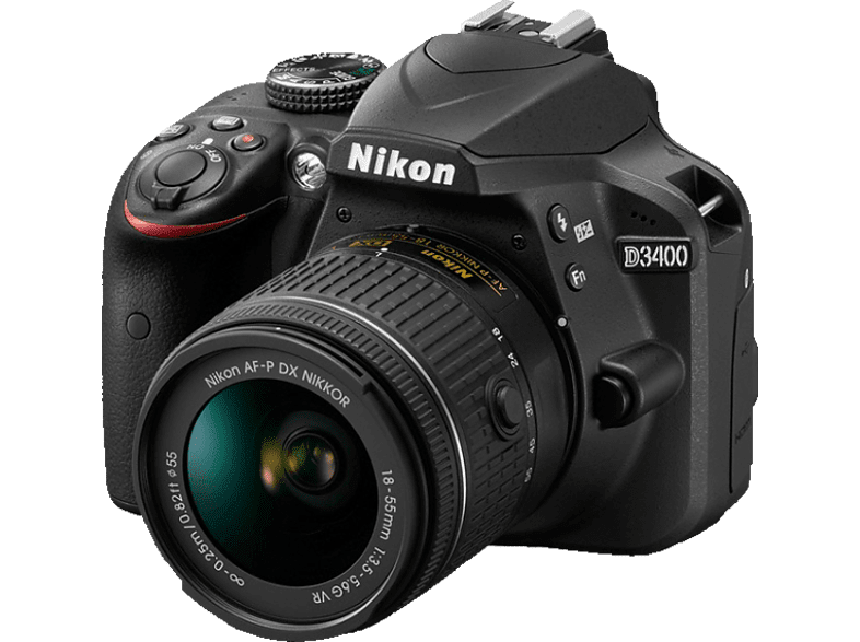 NIKON D3400 Kit 18-55 AF-P VR Black - (VBA490K001) photo   video   offline φωτογραφικές μηχανές dslr cameras hobby   φωτογραφία φωτ