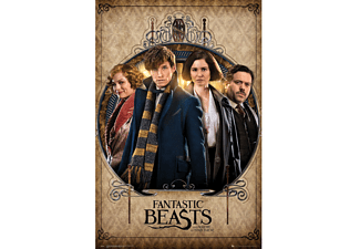 Fantastic Beasts Poster Gruppe