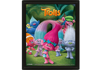 Trolls 3D Poster Characters