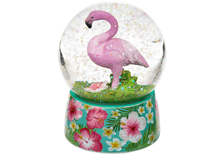 Flamingo Glitterkugel