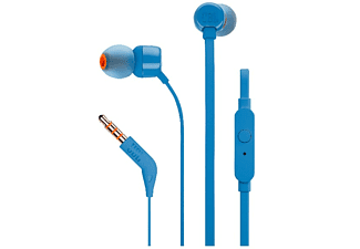 JBL T110 In-ear-hörlur  - Blå
