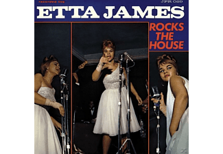James Etta - Rocks The House (LTD Blue Vinyl) - (Vinyl)