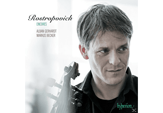 Alban Gerhardt & Marcus Becker - Encores as performed by Mstislav Rostropovich - (CD)
