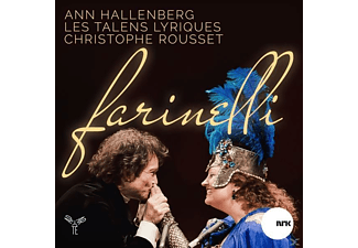 Les Talens Lyrique, Ann Hallenberg - Farinelli - (CD)