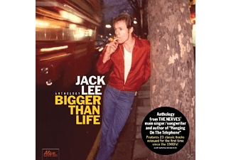 Jack Lee - Bigger Than Life - (CD)