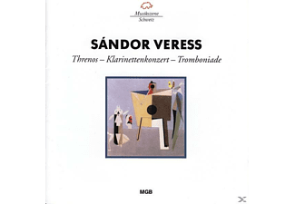 VARIOUS - Threnos/Klarinettenkonzert/Tromboniade - (CD)