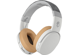 SKULLCANDY CRUSHER Wireless, Over-ear Kopfhörer, Headsetfunktion, Bluetooth, Weiß/Grau