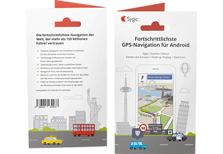 SYGIC Voucher Edition Europa Android Navigation (Produkt-Code)