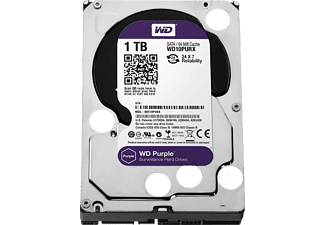 WD WD10PURX Purple Sata 6Gb/s 1TB 64 MB 5400 Rpm Sabit Disk