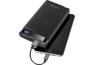 CELLULAR LINE FREE POWER MANTA, Powerbank, Schwarz