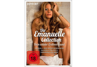 Dein wilder Erdbeermund - Die Emanuelle-Collection [DVD]