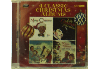 Bing Crosby, Frank Sinatra, Dean Martin, Nat King Cole - Four Classic Christmas Albums - (CD)
