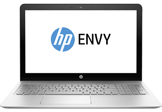 HP ENVY 15-as132ng, Notebook mit 15.6 Zoll Display, Core™ i7 Prozessor, 8 GB RAM, 1 TB HDD, 128 GB SSD, Intel® HD-Grafikkarte 620, Natural Silver