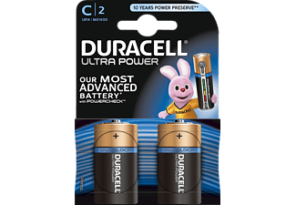 DURACELL Ultra Power C Batterie Alkaline 2 Stück