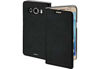 HAMA Slim, Bookcover, Samsung, Galaxy J5 (2016), High-Tech-Polyurethan (PU), Schwarz