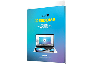 F-Secure Freedome VPN - 2017 (1 Jahr / 3 Geräte)