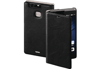 HAMA Guard Case Bookcover$, Huawei, P9 Plus, Kunstleder, Schwarz
