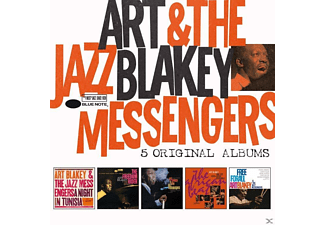 Art Blakey and the Jazz Messengers - 5 Original Albums [CD]