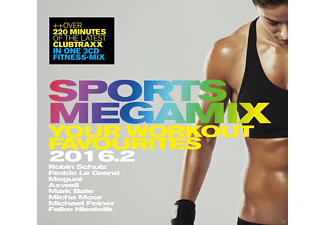 VARIOUS - Sports Megamix 2016.2 Your Workout Favourites - (CD)