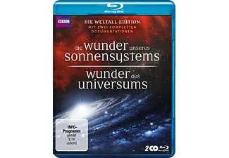 Wunder des Universums & Die Wunder unseres Sonnensystems (BBC-Edition) - (Blu-ray)
