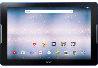 ACER Iconia One 10 (B3-A30), Tablet mit 10.1 Zoll, 16 GB Speicher, 1 GB RAM, Android™ 6.0 (Marshmallow), Blau/Schwarz