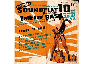 VARIOUS - Soundflat Records Ballroom Bash! Vol.10 [CD]