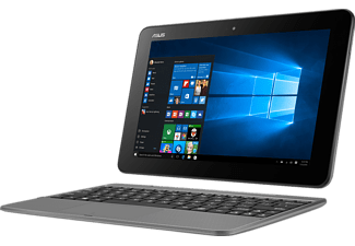 ASUS T101HA-GR005T, Convertible mit 10.1 Zoll, 128 GB Speicher, 2 GB RAM, Atom™ x5 Prozessor, Windows® 10 Home (64 Bit), Glacier Gray