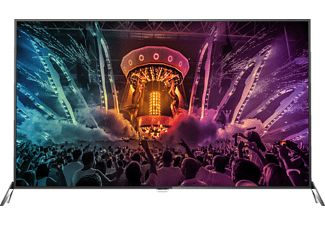 PHILIPS 65PUS6121/12, 164 cm (65 Zoll), UHD 4K, SMART TV, LED TV, DVB-C, DVB-S, DVB-S2