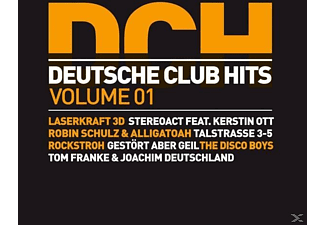 VARIOUS - Deutsche Club Hits Vol.1 - (CD)