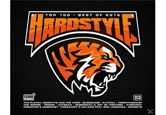 VARIOUS - Hardstyle Top 100 Best Of 2016 - (CD)