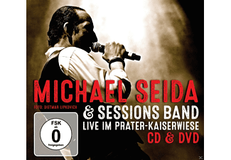Michael Seida & Sessions Band - Seida Live im Prater-Kaiserwiese - (CD + DVD)