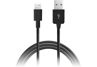 PURO Lightning Cable Apple 2.1 MFI iPod/iPhone/iPad Black - (CAPLTBLK)