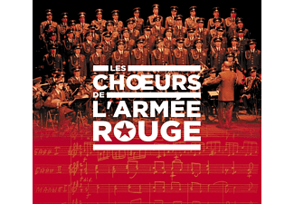 Les Choeurs De L'armee Rouge - Red Army Choir - (CD)
