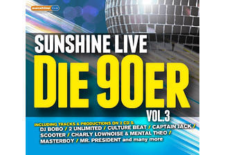 VARIOUS - Sunshine Live-Die 90er Vol.3 - (CD)