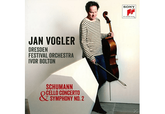 Jan Vogler, Dresdner Festspielorchestra - Cello Concerto op.129 & Sinfonie 2 - (CD)