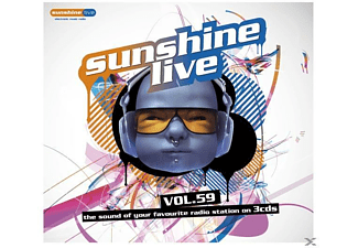 VARIOUS - Sunshine Live 59 - (CD)