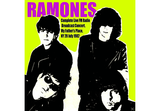 Ramones - My Father's Place,Ny,20 July 1982 - (CD)