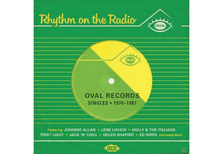VARIOUS - Rhythm On The Radio-Oval Records Singles 1974-87 - (CD)