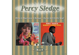 Percy Sledge - When A Man Loves A Woman+Warm And Tender Soul - (CD)